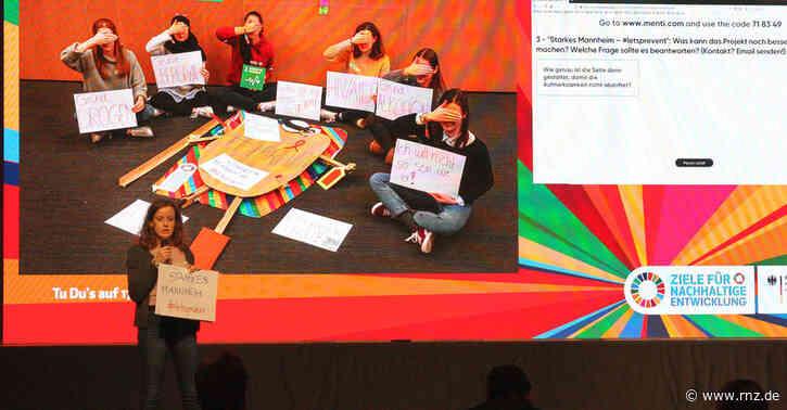 Nachhaltigkeit für Mannheim:  Beim Festival der Taten erarbeiteten Schüler und Studierende Ideen für die Stadtgesellschaft