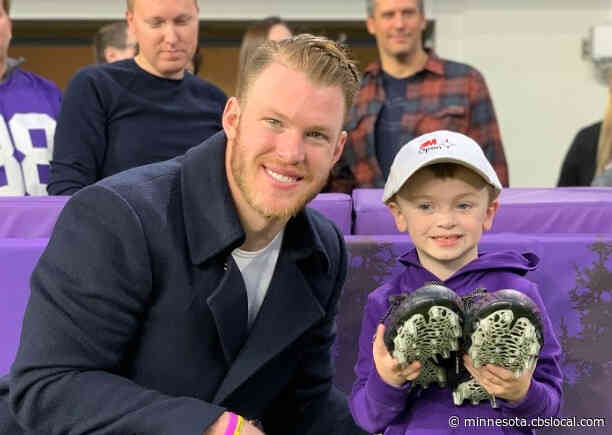 'It Means A Lot': Vikings Take Part In 'My Cause My Cleats'