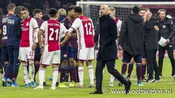 Van Hooijdonk kijkt ogen uit bij Ajax: 'Hij stopte gewoon met rennen'
