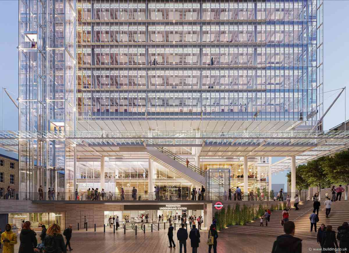 In pictures: New images of Paddington Cube