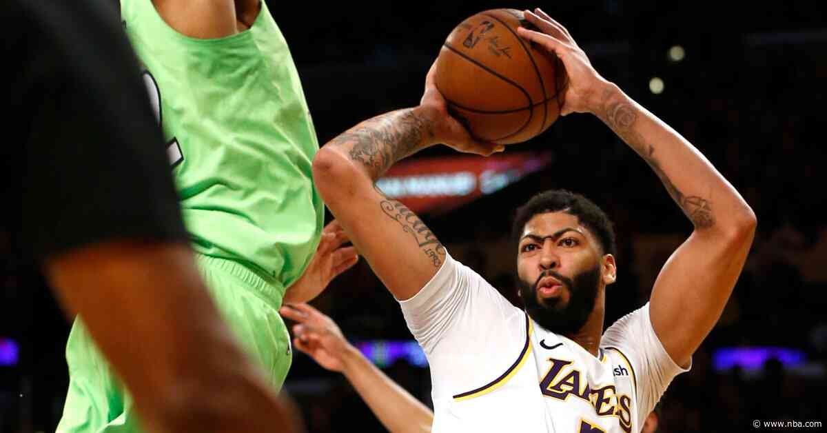 Davis delivers 50-point masterpiece as Lakers win again