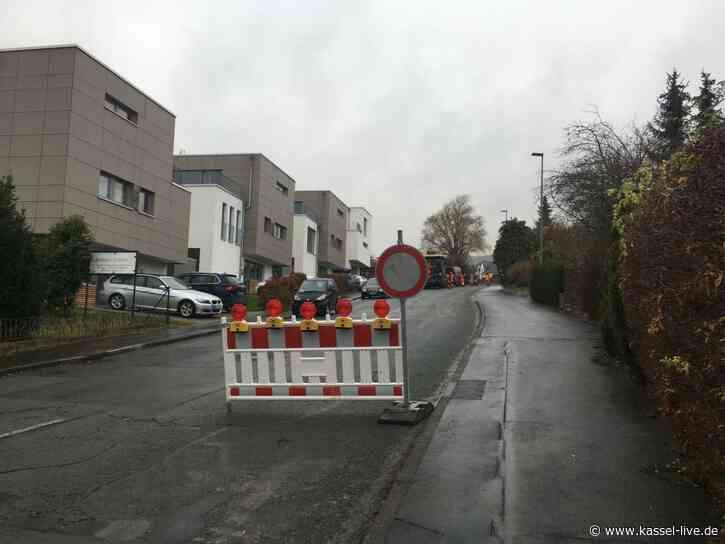 Hohefeldstraße gesperrt