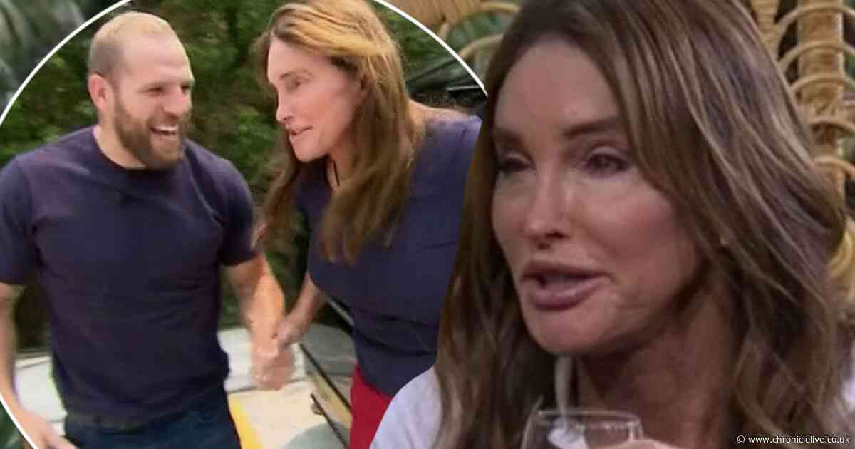 I'm a Celebrity's James Haskell explains the incredibly sweet reason he met Caitlyn Jenner on the bridge