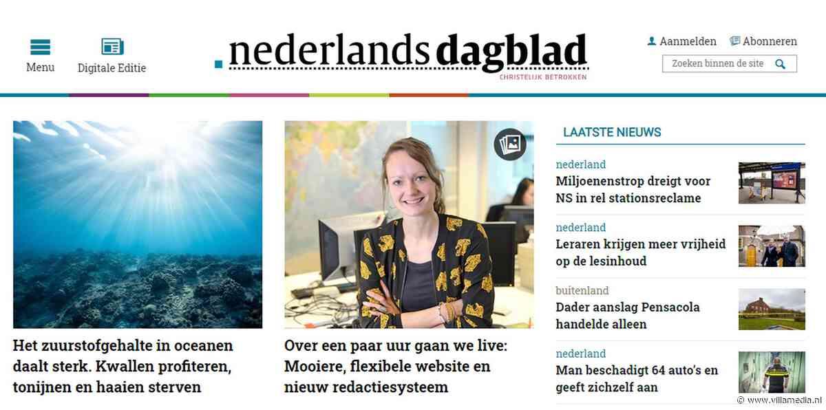 Nieuwe site en redactiesysteem voor Nederlands Dagblad