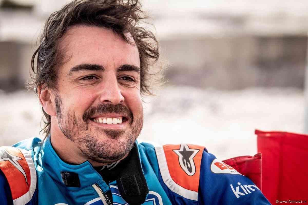 Alonso: 'Formule 1 en Dakar zijn heel verschillend'
