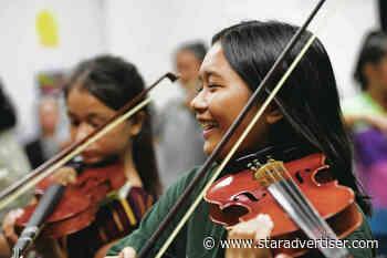 Violins pull Nanakuli kids into new musical world, thanks to Carnegie Hall