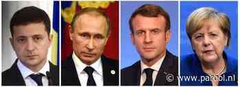 Zelenski en Poetin maken nu eindelijk kennis met elkaar