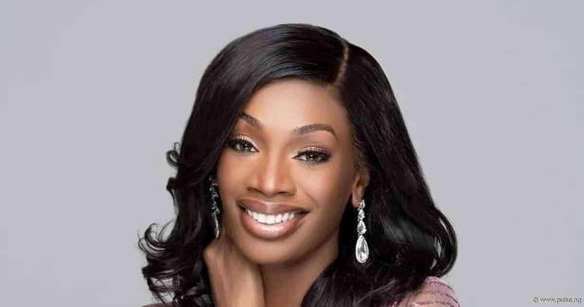 Miss Nigeria Universe, Olutosin Araromi is a total vibe as she cheers the new Miss Universe