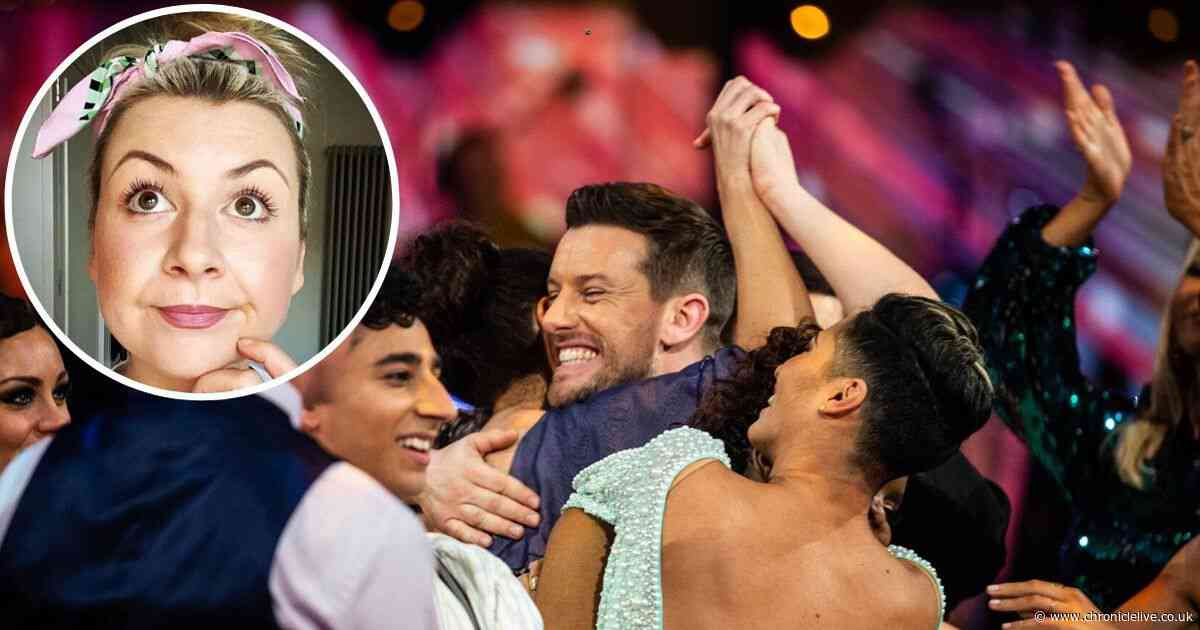 Chris Ramsey exits Strictly Come Dancing and wife Rosie has a cheeky message for him
