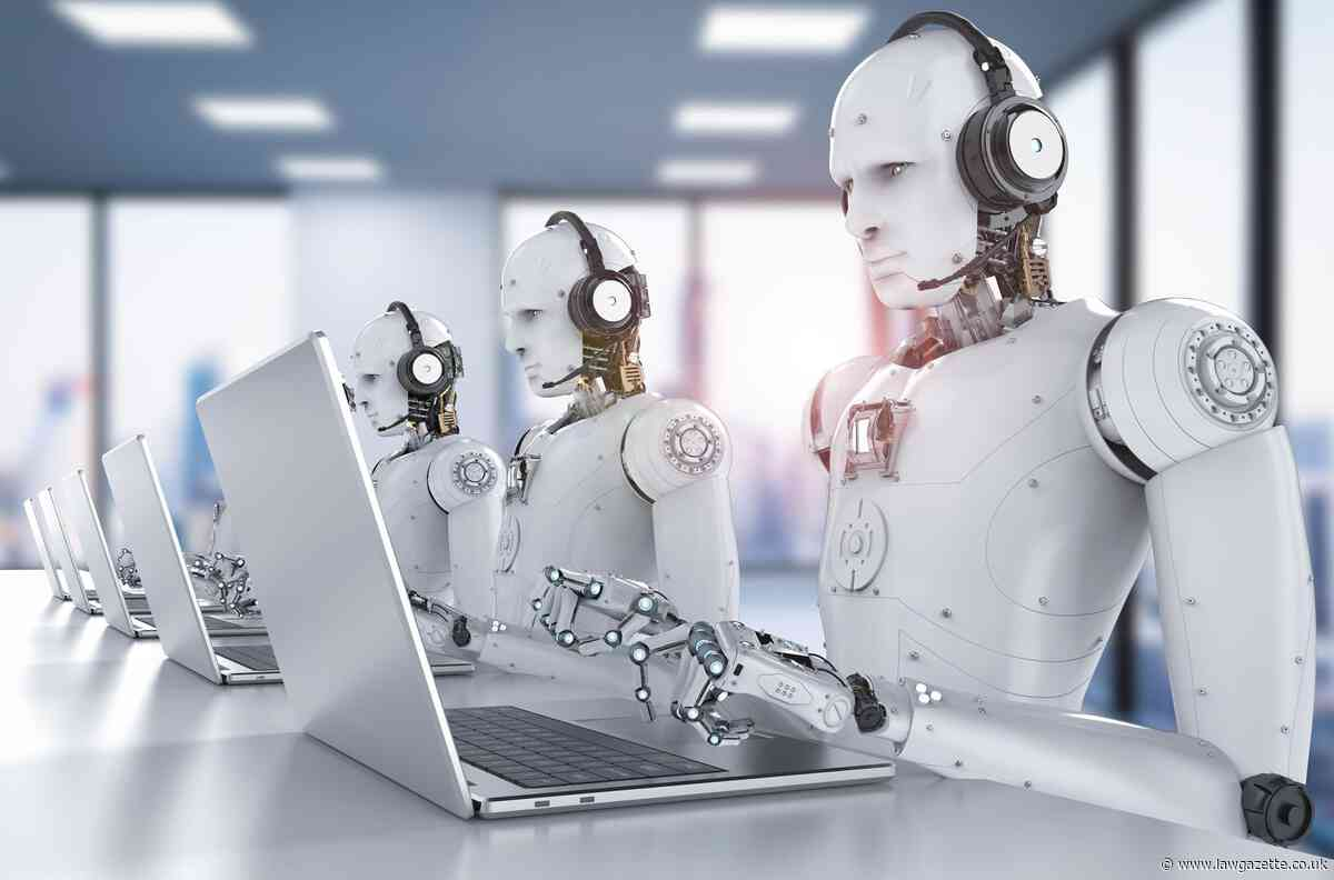 AI revolution could cost 35,000 UK legal jobs - Law Society research