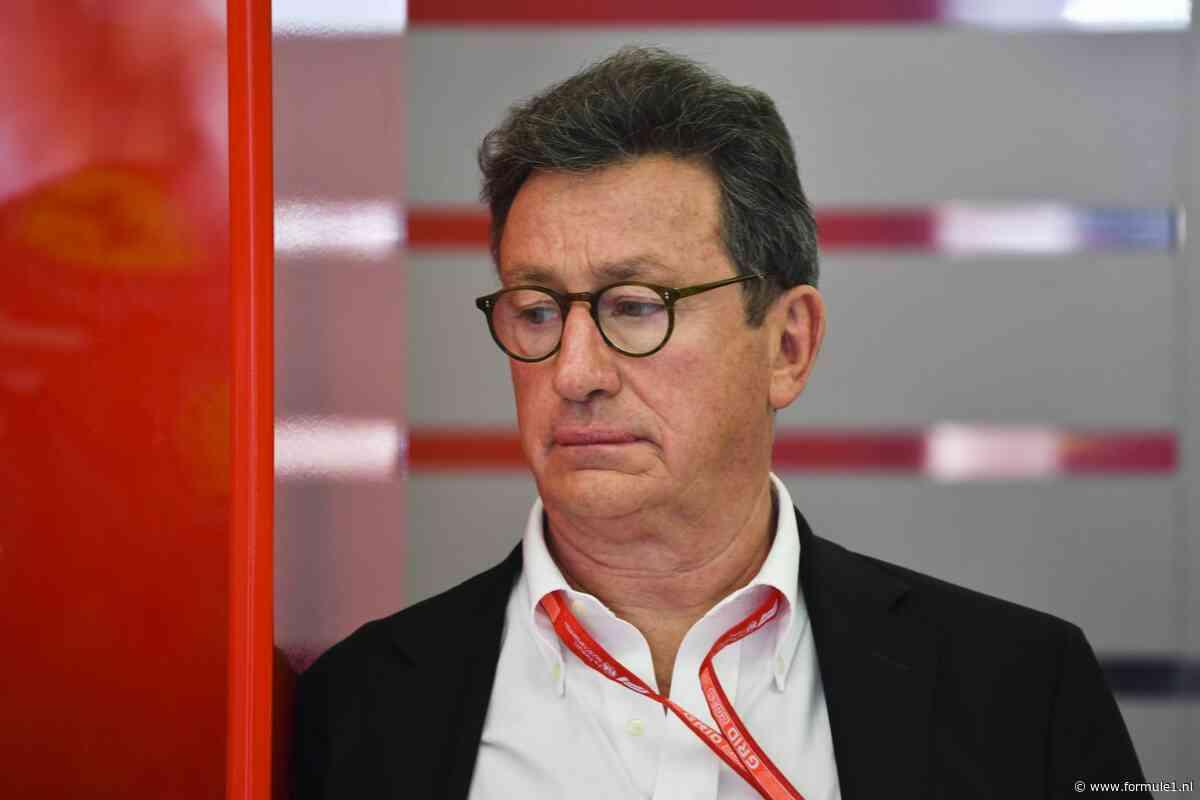 Ferrari-CEO Camilleri: 'Netflix-serie is een geweldige zet geweest voor de F1'