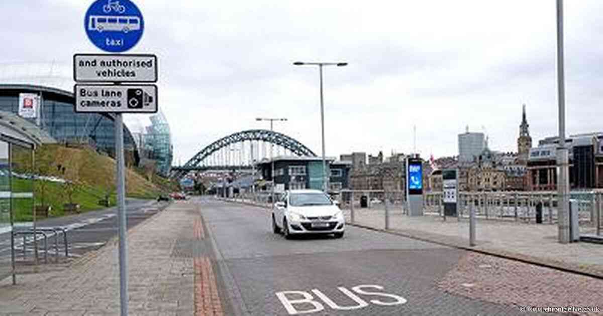 More than 500 drivers caught by Gateshead bus lane camera in three days