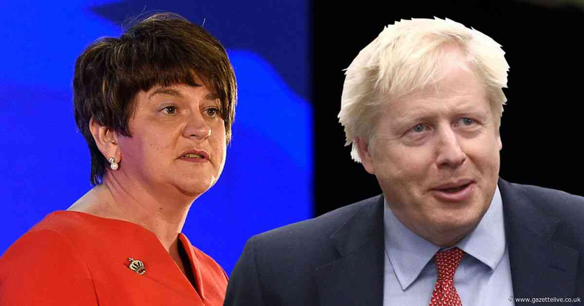 Boris Johnson accused of 'breaking his word' over protecting the union by DUP leader