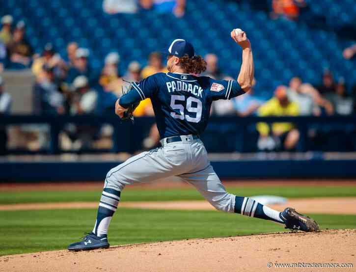 Padres Not Playing At Top Of Free Agent Market