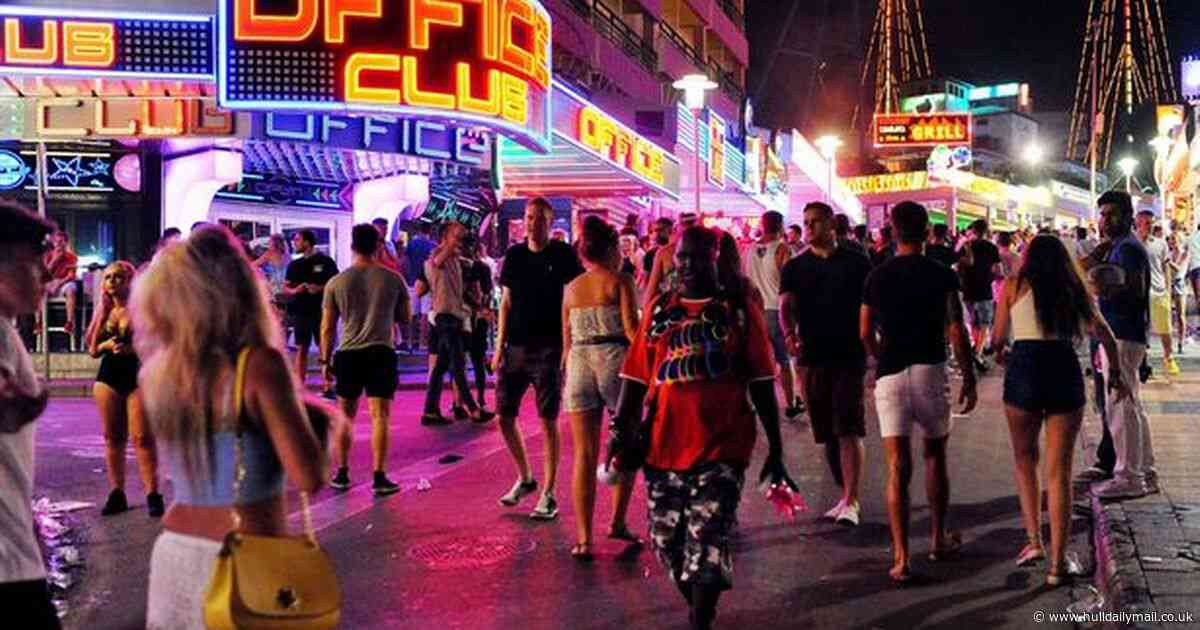 Drink-fuelled all-inclusive breaks to Magaluf could be banned in hard-hitting new measures
