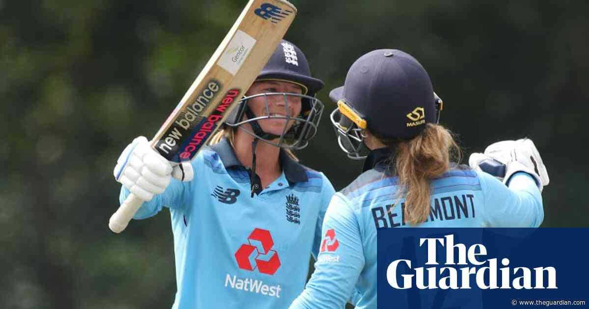 England women win first ODI against Pakistan after huge opening stand