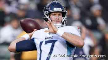 Ryan Tannehill: Titans will always find a way