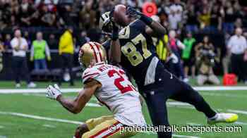"""Drew Brees: """"Would have been nice to have"""" Jared Cook all game"""
