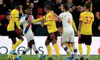 McArthur insists Crystal Palace team-mate Wilfried Zaha is trying to control his anger