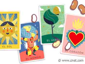 Google Doodle invites you to play Mexican card game Loteria     - CNET