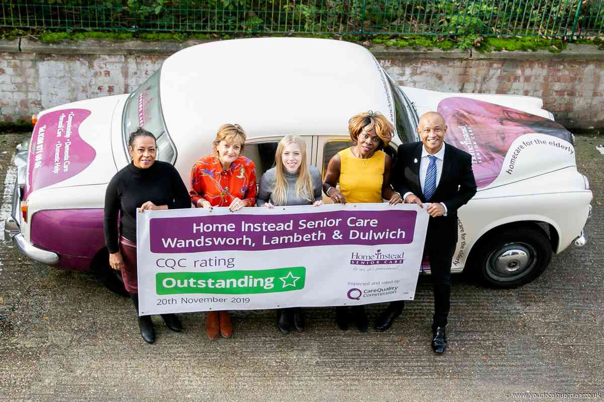 'Excellent, caring and empowering' in-home care company gets Outstanding rating