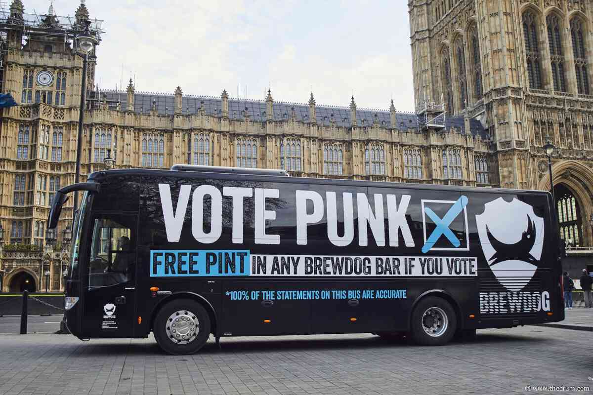 BrewDog jumps on Brexit bus bandwagon with a pints for voting promise