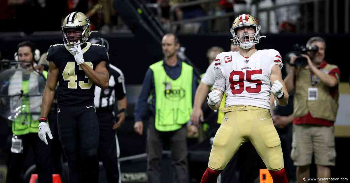 McGlinchey on Kittle: He's the best in the world