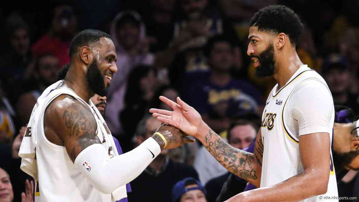 Three Things to Know: LeBron, Anthony Davis combine for 82 in latest sign of fast chemistry