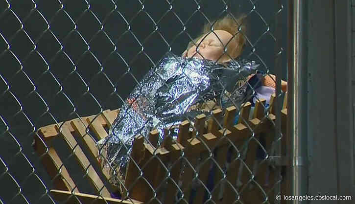 'A Very Bold Statement': Nativity Scene Has Jesus, Mary And Joseph Separated, Placed In Cages In Claremont