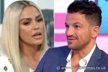 How Peter Andre reacted to ex-wife Katie Price going bankrupt