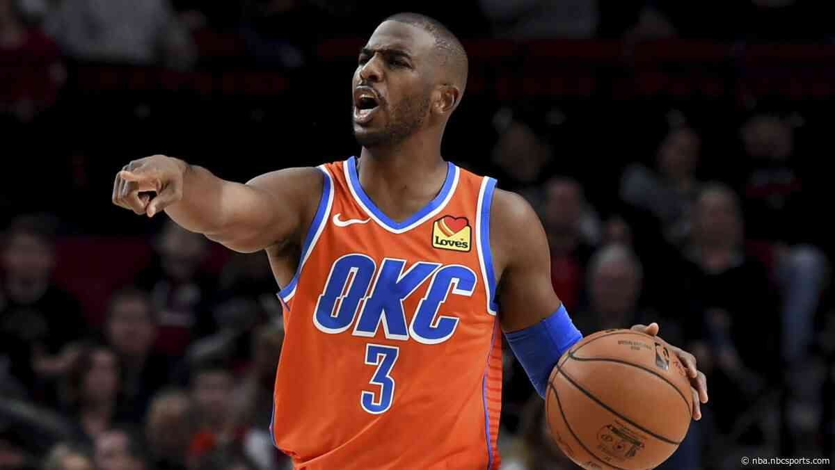 Thunder called for two delay of game penalties, Chris Paul knows it's retribution