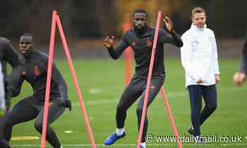 'He looks hungry': Frank Lampard reveals Antonio Rudiger is 'fit and ready to go'
