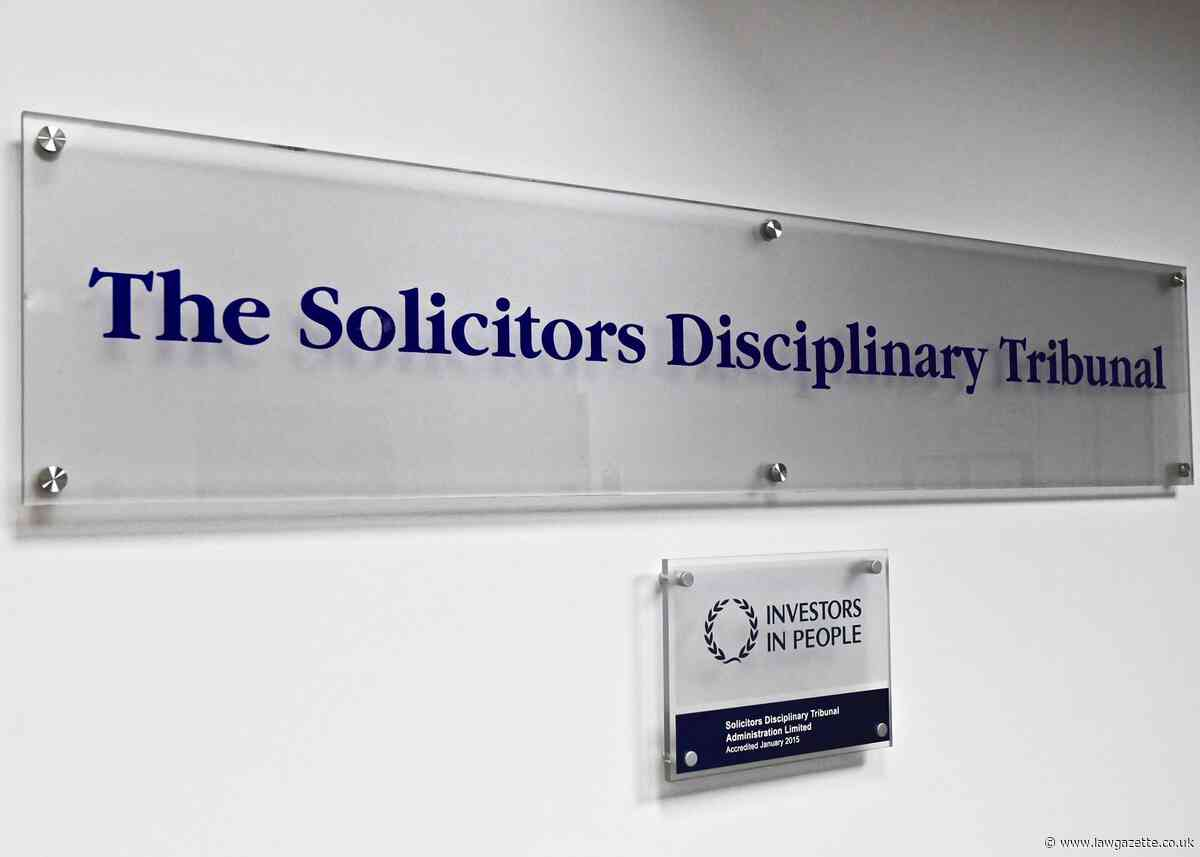 Struck off dishonest solicitor claims she was not supported by firm