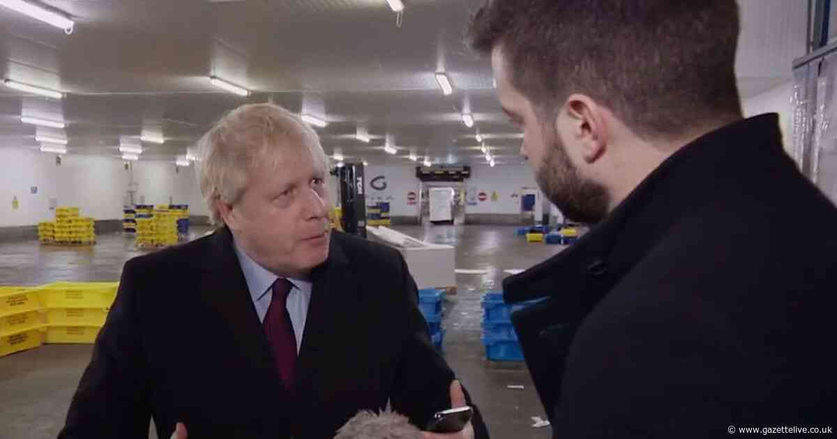 Boris Johnson pockets reporter's phone when confronted with picture of boy, 4, on hospital floor