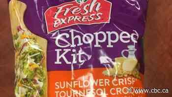 Fresh Express brand Sunflower Crisp Chopped Kit recalled due to E. coli
