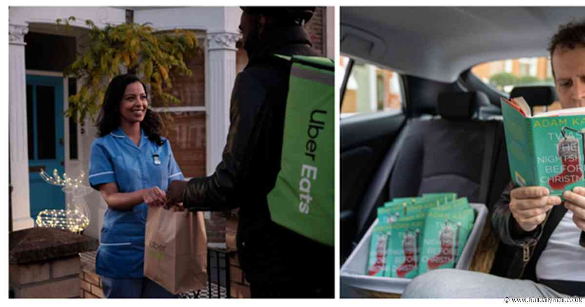Free Uber rides and food for NHS staff working over Christmas
