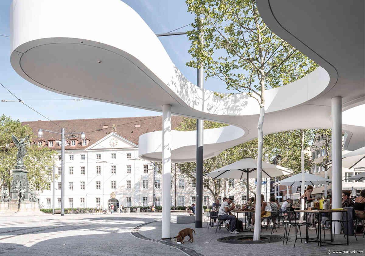 Nächster Halt Amöbe  - Europapavillon in Freiburg von J. Mayer H. und Partner