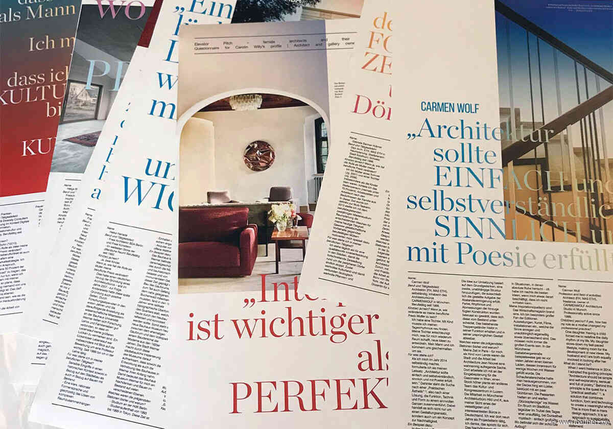 Frauen in der Architektur - Diskussion und Ausstellung in München
