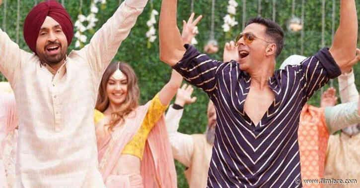 Hereâs how Diljit Dosanjh broke the ice with Akshay Kumar on the sets of Good Newwz