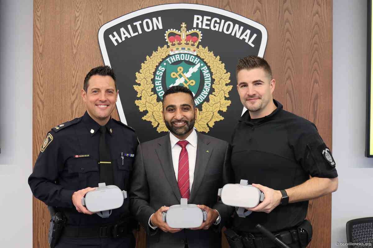 Virtual Reality Training Program for Halton Police