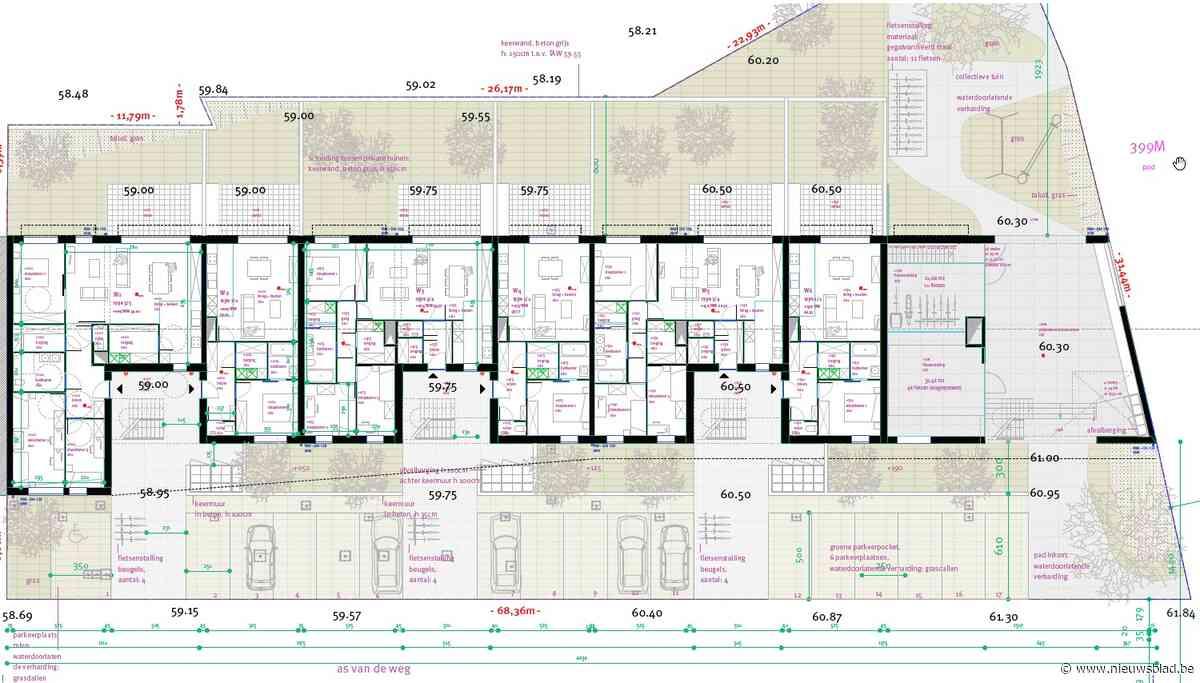 Nog zeventien sociale huurwoningen aan Residentie Das