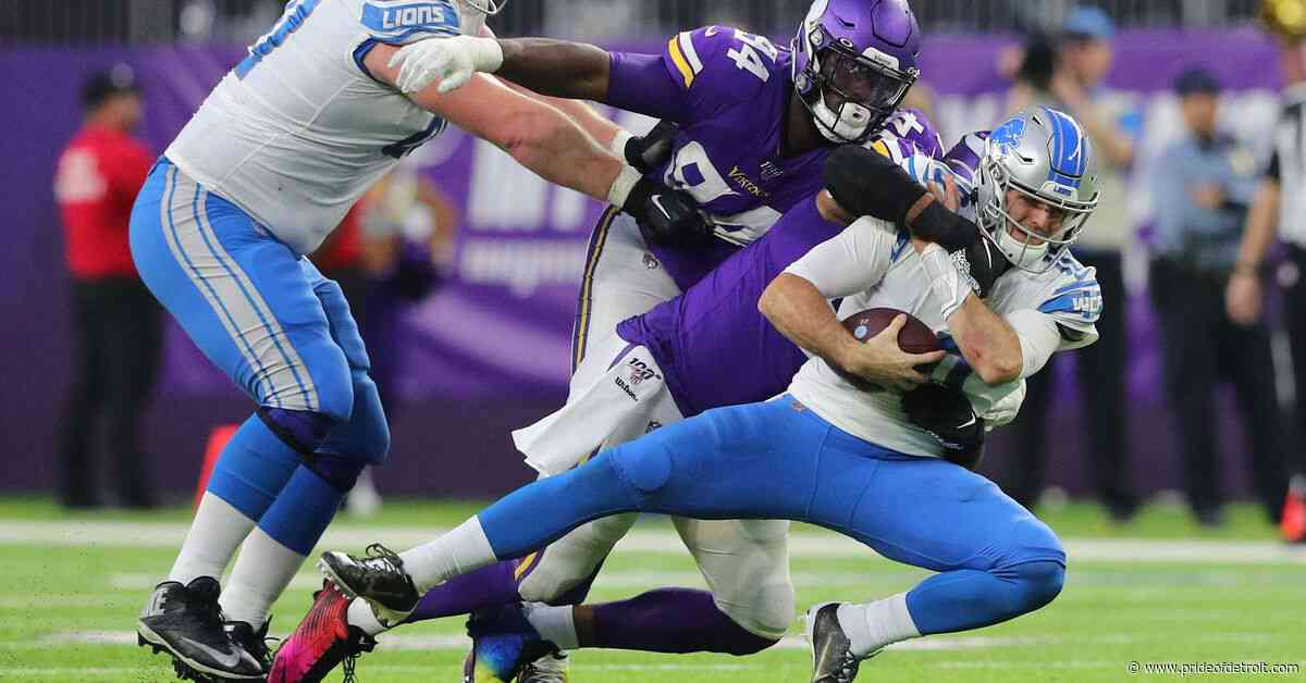 Detroit Lions Week 14 grades: Offense finally runs dry vs. Vikings
