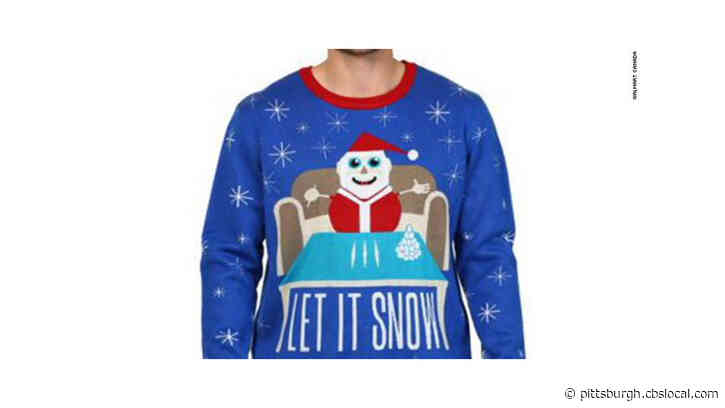 Walmart Apologizes For Selling Christmas Sweater With Drug