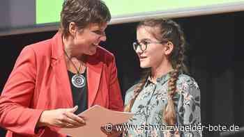 Simmersfeld: Rudolf-Stähle-Preis für Lotta Mutschler