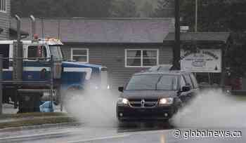Southern New Brunswick under rainfall warning