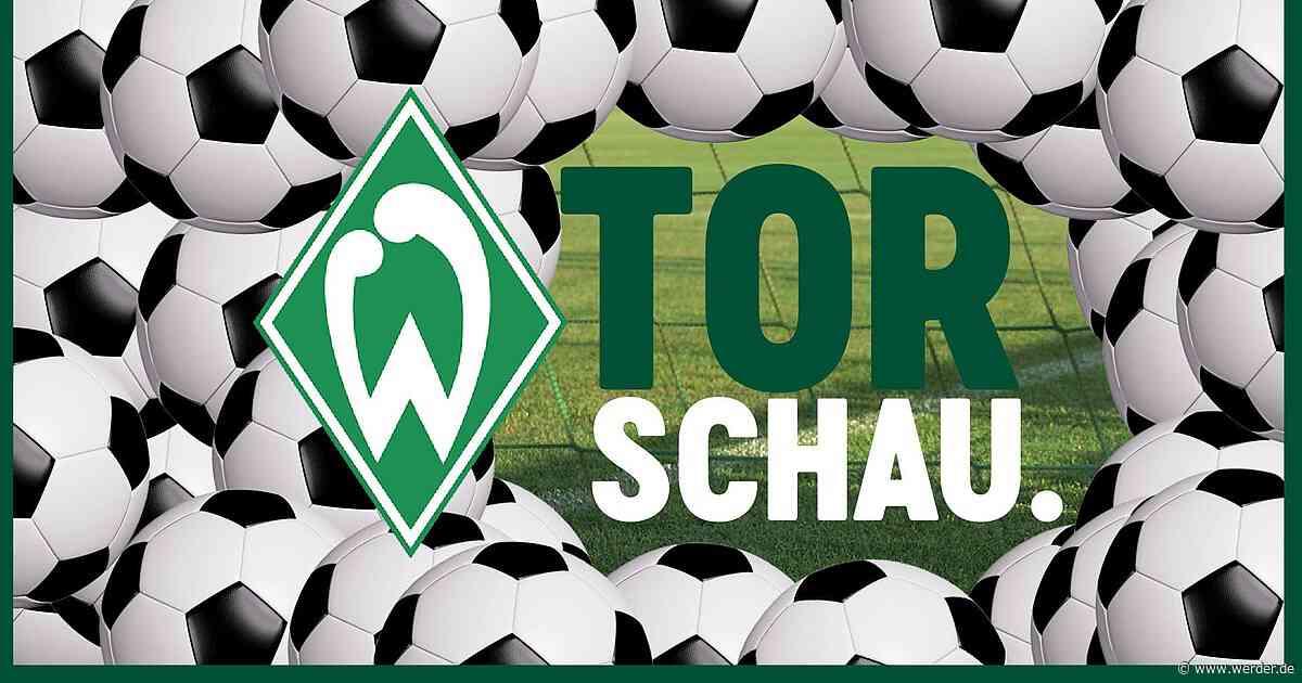 Die #WERDER Torschau – KW49