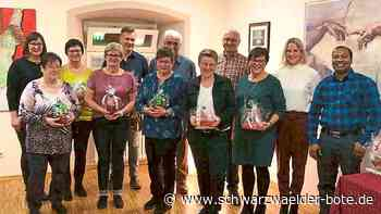 Schömberg: Namenstag gefeiert