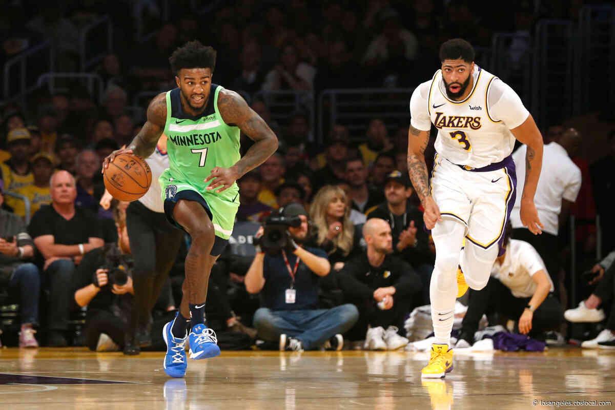 Davis Puts Up 50 As Lakers Power Past Timberwolves In High Scoring Affair