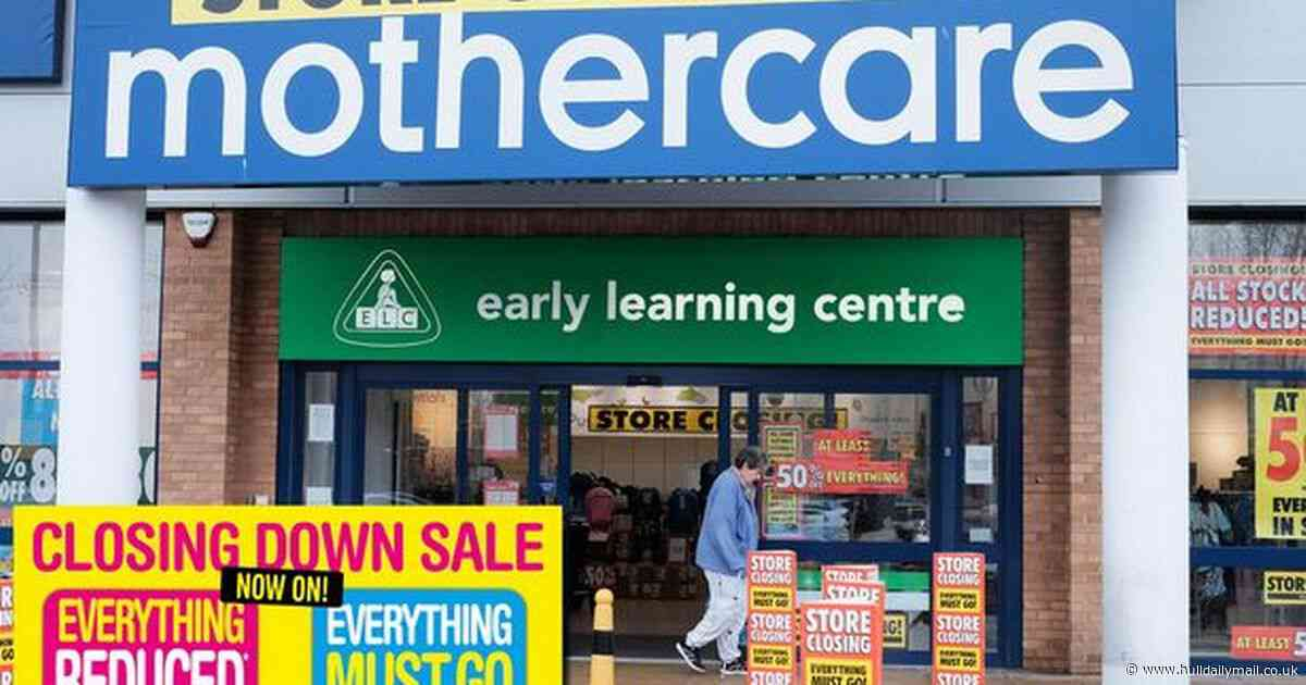 Mothercare closing down sale: Prices slashed by 50% to shift remaining stock