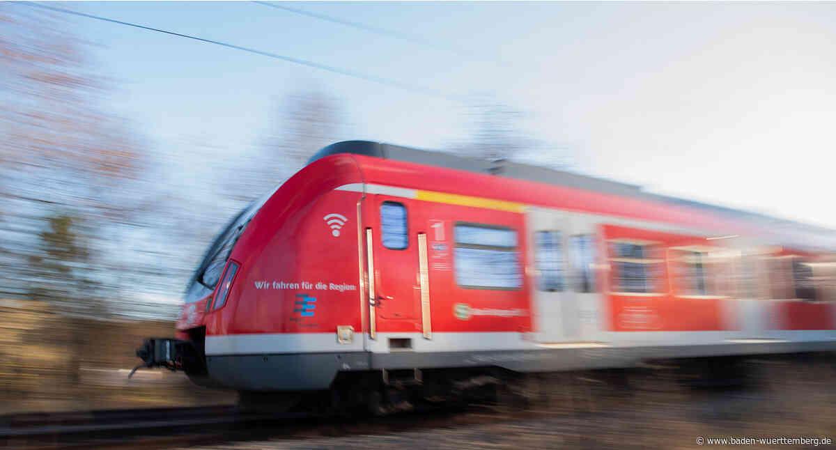 Deutliche Verbesserungen im regionalen Schienenverkehr